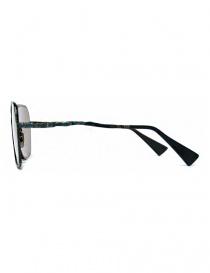 Occhiale da sole Kuboraum Maske H14 in metallo colorato prezzo