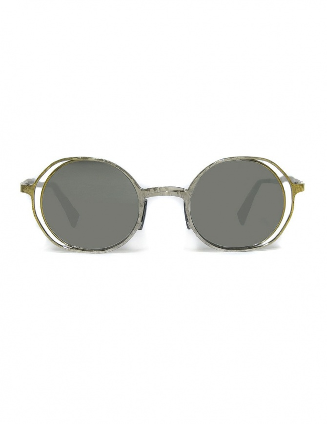 Kuboraum Maske H11 silver gold metal sunglasses H1145-22 GD SILVER glasses online shopping
