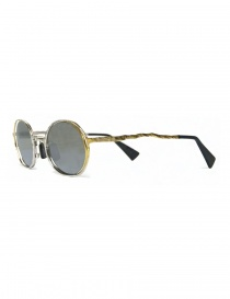 Kuboraum Maske H11 silver gold metal sunglasses buy online