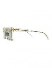 Occhiale Kuboraum Maske N4 in acetato trasparente