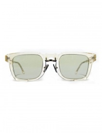 Glasses online: Kuboraum Maske N4 transparent acetate glasses