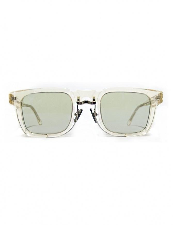 Occhiale Kuboraum Maske N4 in acetato trasparente N4-48-29-CHP occhiali online shopping