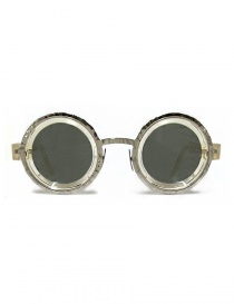 Glasses online: Kuboraum Maske Z3 transparent acetate and metal sunglasses