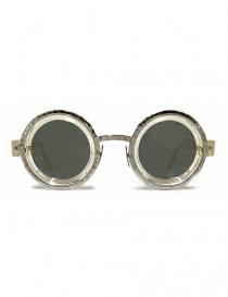 Occhiale da sole Kuboraum Maske Z3 in acetato trasparente e metallo Z3-41-31-CHP-SILVER order online