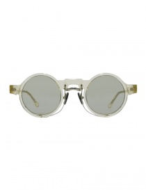 Glasses online: Kuboraum Maske N3 transparent acetate glasses
