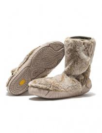 Calzature donna online: Stivale Vibram Furoshiki Lapland in pelliccia beige