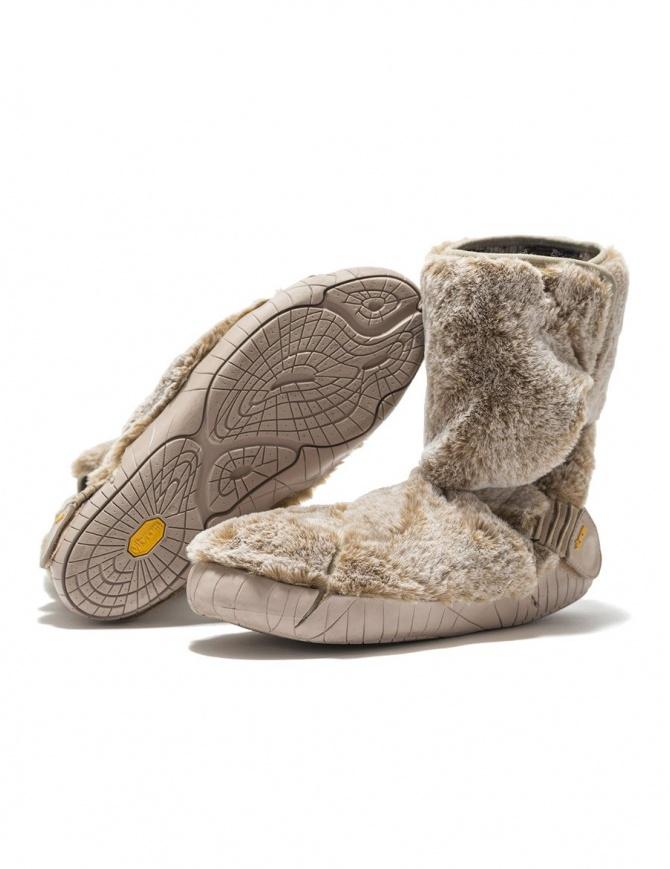 Stivale Vibram Furoshiki Lapland in pelliccia beige 17UCE03-LAPLAND-BEIGE calzature donna online shopping