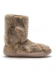 Vibram Furoshiki Lapland beige eco-fur boots