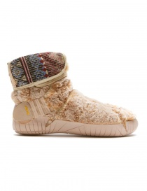 Vibram Furoshiki Lapland beige eco-fur boots price