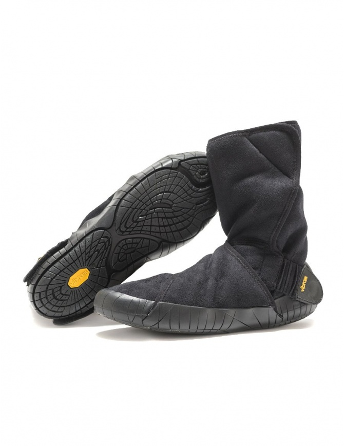 Stivale Vibram Furoshiki Eastern Traveler in suede nero 17UCC01-EASTERN-TRAV-BLK calzature donna online shopping