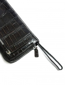 Tardini dark brown waxed alligator leather handbag bags price
