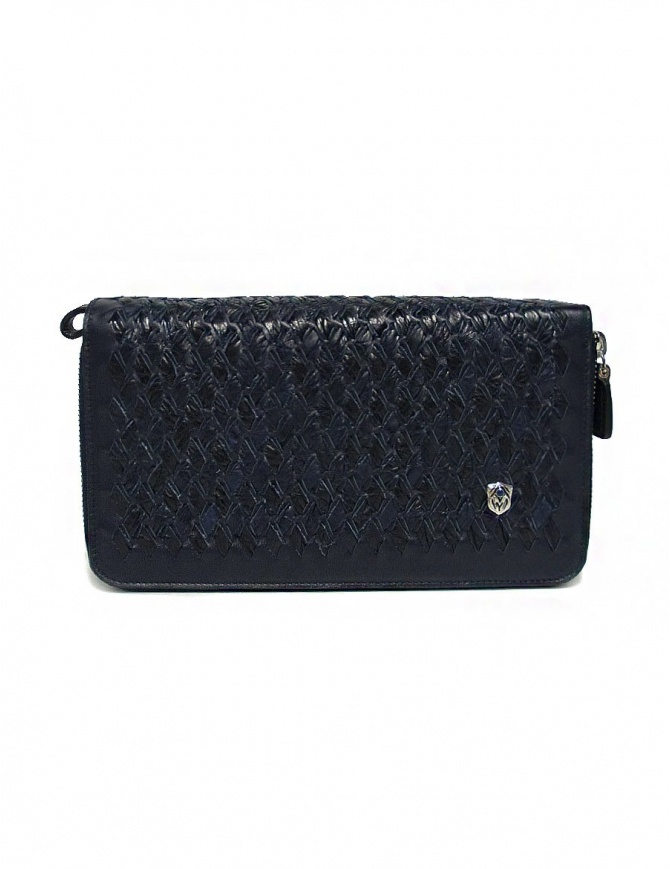Tardini woven alligator leather blue documents case A6T220-31-06EL-R-COC bags online shopping