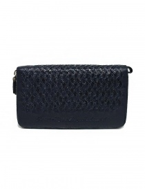 Tardini woven alligator leather blue documents case price