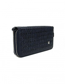 Tardini woven alligator leather blue documents case