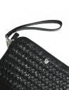 Borsello Tardini in pelle di alligatore intrecciata colore nero A6T261-31-01BL-SOTTO acquista online
