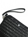 Tardini woven alligator leather black underarm bag A6T261-31-01BL-SOTTO buy online