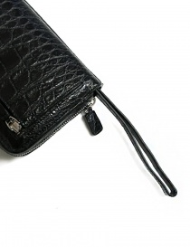 Tardini black waxed alligator leather handbag bags price