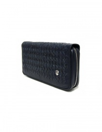 Tardini woven alligator leather blue handbag buy online