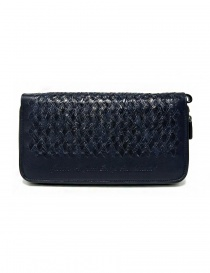 Tardini woven alligator leather blue handbag price