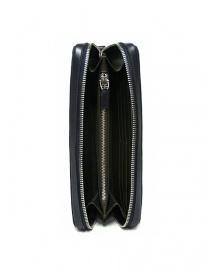 Borsello a mano Tardini in pelle di alligatore intrecciata colore blu borse acquista online
