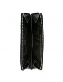 Portafoglio da viaggio Tardini in alligatore cerato colore nero portafogli acquista online
