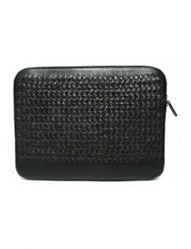 Tardini woven alligator leather brown and black underarm bag price