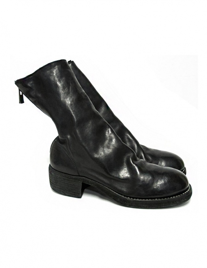 Black leather Guidi 788Z ankle boots 788Z SOFT HORSE FULL GRAIN BLKT womens shoes online shopping