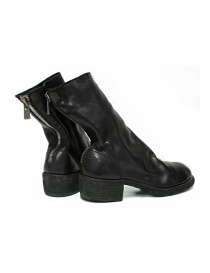 Black leather Guidi 788Z ankle boots price