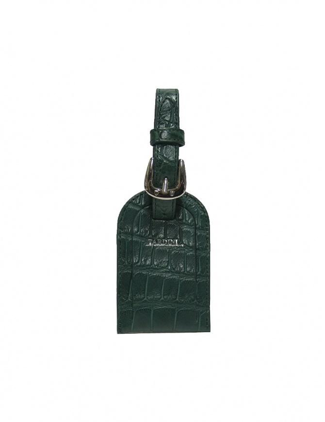 Portanome Tardini verde in pelle di alligatore satinato A6R071-250-917-PORTANOME portafogli online shopping
