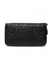 Tardini woven alligator leather black handbag price