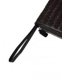 Borsello a mano Tardini in pelle di alligatore intrecciata colore marrone nero borse prezzo