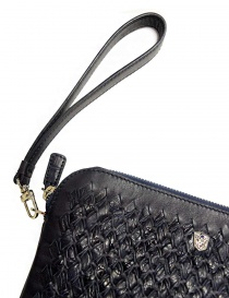 Tardini woven alligator leather blue flag underarm bag bags buy online
