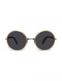 Paul Easterlin silver Dalla sunglasses DALLA-SILVER-RAW-BLK-LENS