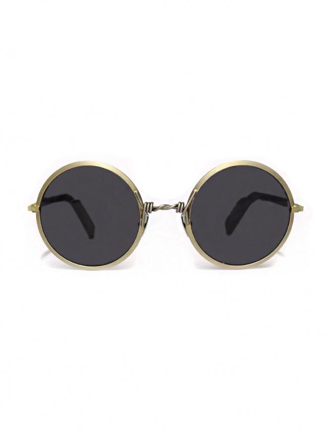 Occhiale Paul Easterlin argento modello Dalla DALLA-SILVER-RAW-BLK-LENS occhiali online shopping