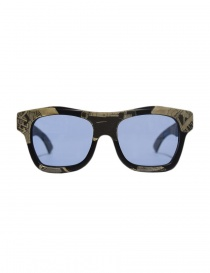 Glasses online: Paul Easterlin Newman Comics with blue lenses sunglasses