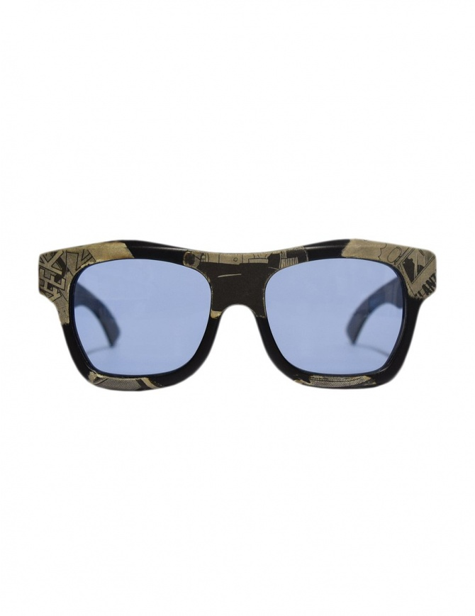 Paul Easterlin Newman Comics with blue lenses sunglasses NEWMAN COMICS BLU LENSE glasses online shopping