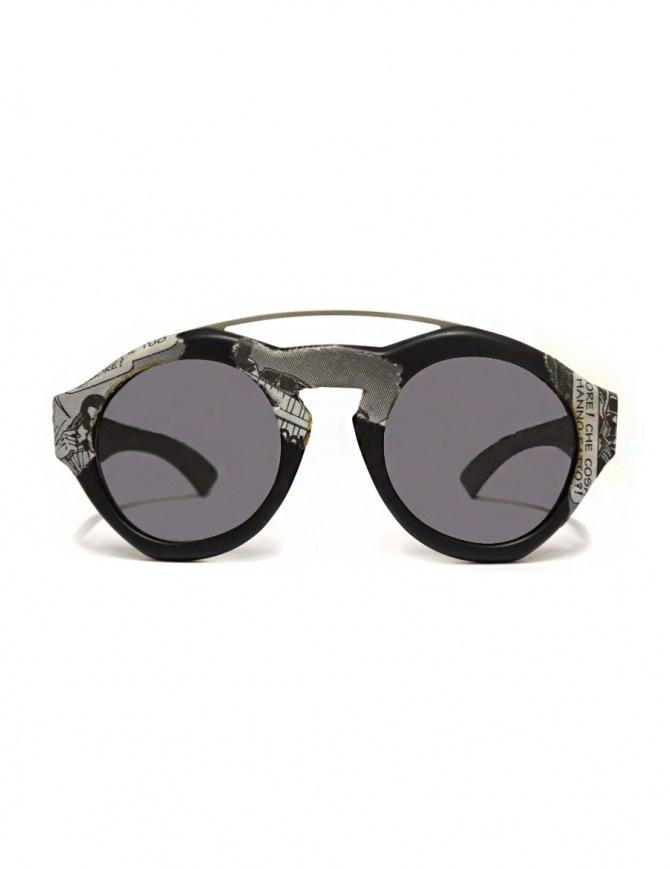 Occhiale Paul Easterlin modello Woody Comics con lente nera WOODY COMICS BLK SMOKE LENSE occhiali online shopping