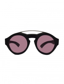 Glasses online: Paul Easterlin Woody black glasses with marsala lenses