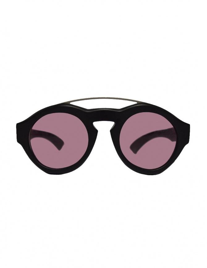 Occhiale Paul Easterlin Woody nero con lente marsala WOODY-BLK-OPACO-MARSALA-L occhiali online shopping