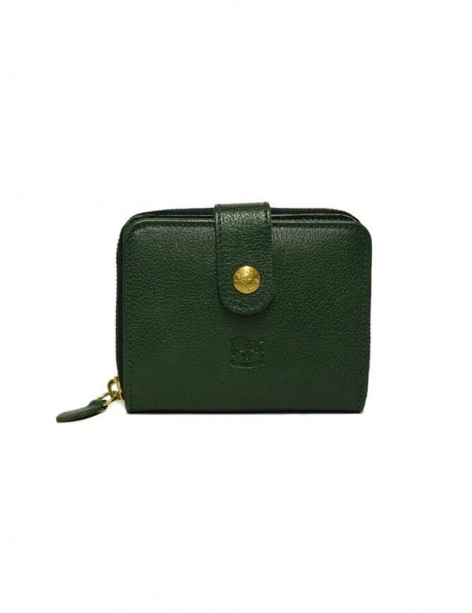 Portafoglio in pelle Il Bisonte colore verde C0960-P-245-VERDE portafogli online shopping
