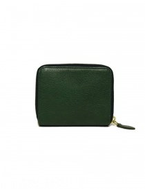 Il Bisonte green leather wallet
