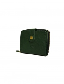 Il Bisonte green leather wallet price