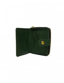 Portafoglio in pelle Il Bisonte colore verde portafogli acquista online