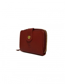 Il Bisonte red leather wallet price