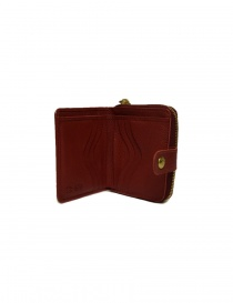 Il Bisonte red leather wallet wallets buy online