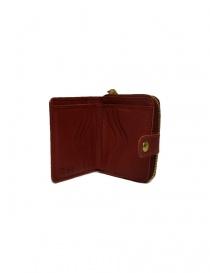Portafoglio in pelle Il Bisonte colore rosso portafogli acquista online