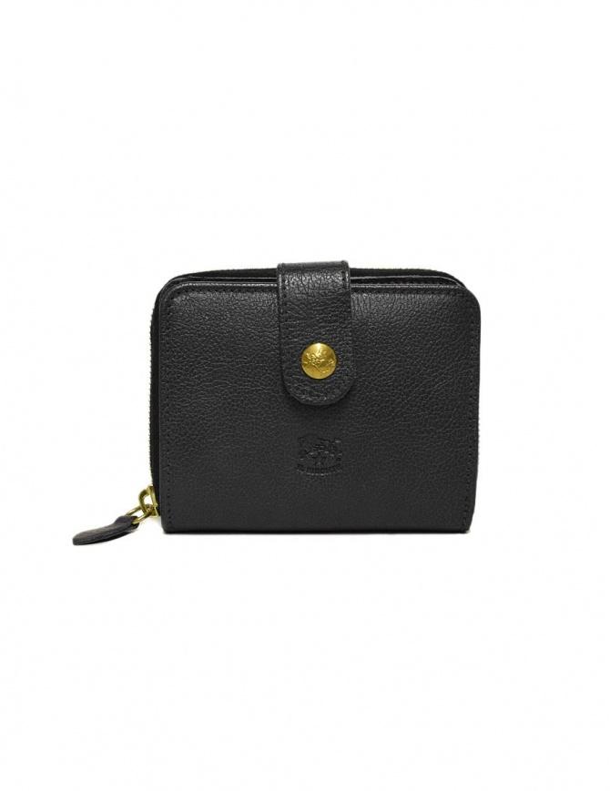 Portafoglio in pelle Il Bisonte colore nero C0960-P-153-NERO portafogli online shopping