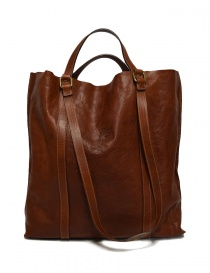 Il Bisonte walnut leather bag A2185-PO-566 order online