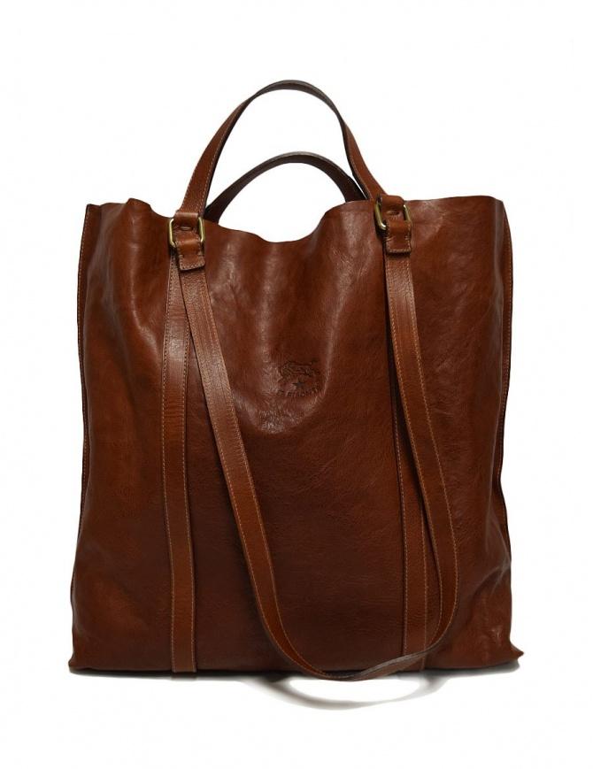 Borsa in pelle Il Bisonte colore noce A2185-PO-566 borse online shopping