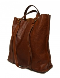 Il Bisonte walnut leather bag